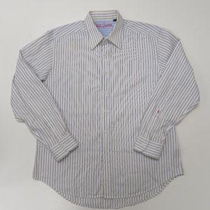 Robert Graham Button Down Shirt Striped XL
